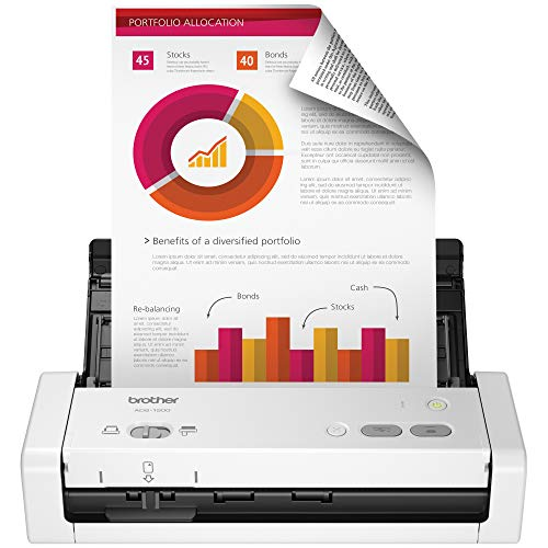 Brother Easy-to-Use Compact Desktop Scanner