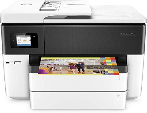 HP Wireless 7740 Office Jet Pro Printer