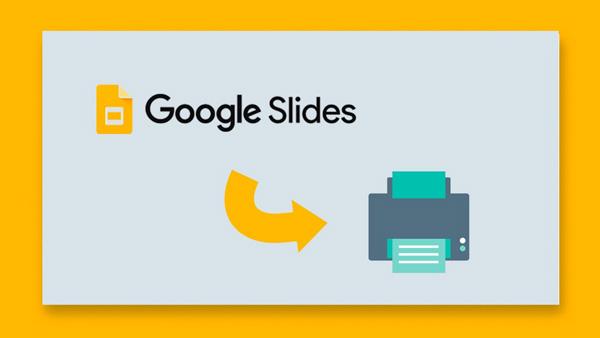 How Do You Print The  Slides