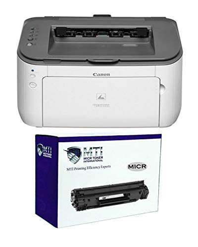 MICR Toner LBP6230dw Wireless Laser Check Printer Bundle with Canon 126 MICR Toner Cartridge
