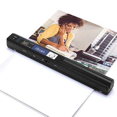 MUNBYN Magic Wand Portable Scanner