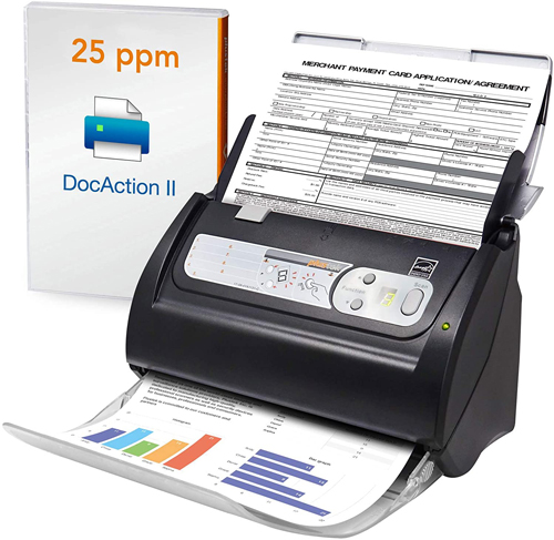 Plus-tek PS186 High Speed Document Scanner
