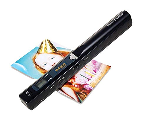 VuPoint Solutions Black Portable Magic Wand Scanner for Mac Os