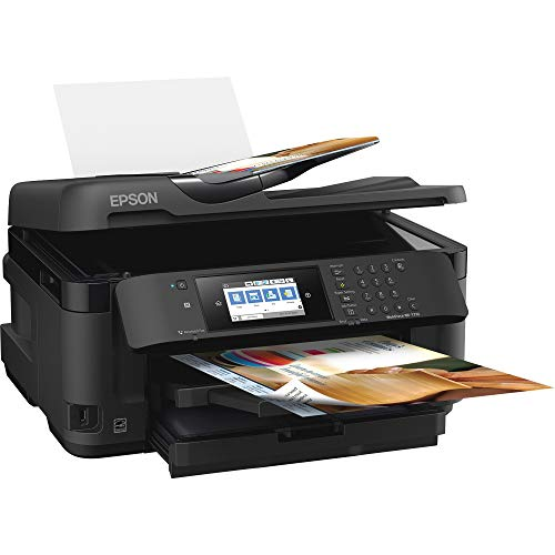 WorkForce WF-7710 Wireless Wide format Color Inkjet Printer