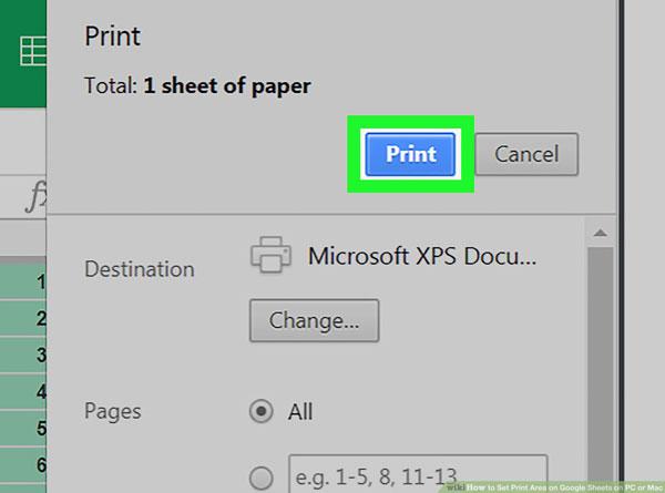 Adjust Paper Size