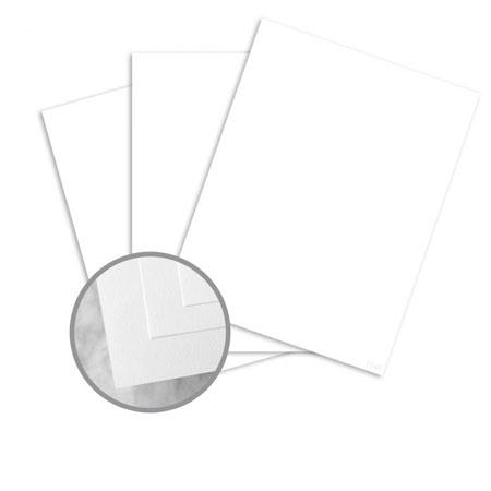Bright White Cardstock Paper