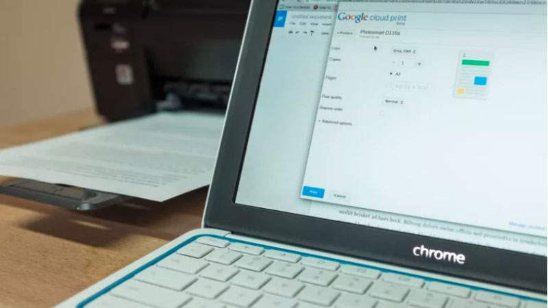 How To Add A Printer To Chromebook