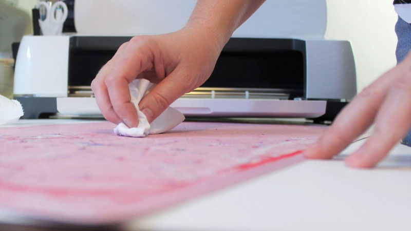 How To Clean A Cricut Fabric Mat Effortlessly