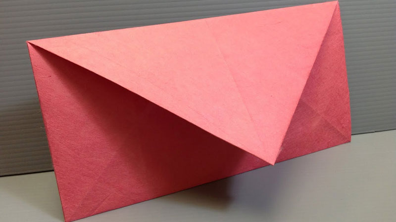 How To Make An Envelope Out Of 8.5×11 Paper
