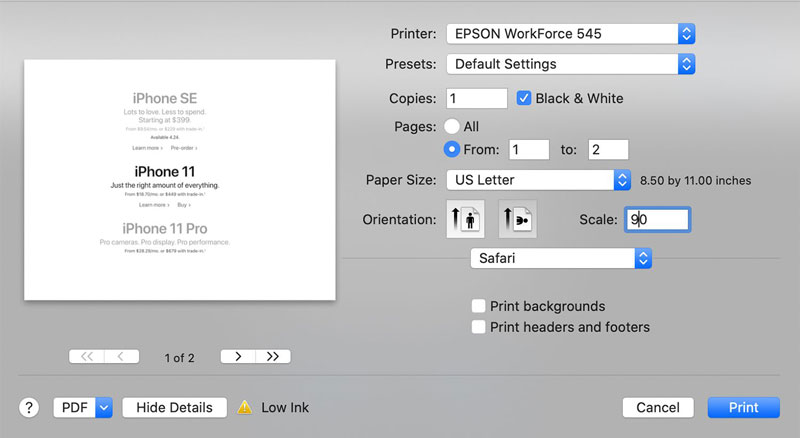 How To Print In Black And White On Microsoft Word