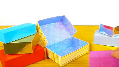 Making Cardstock Gift Boxes