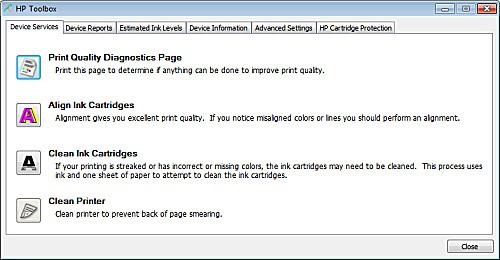 download the HP printer tool