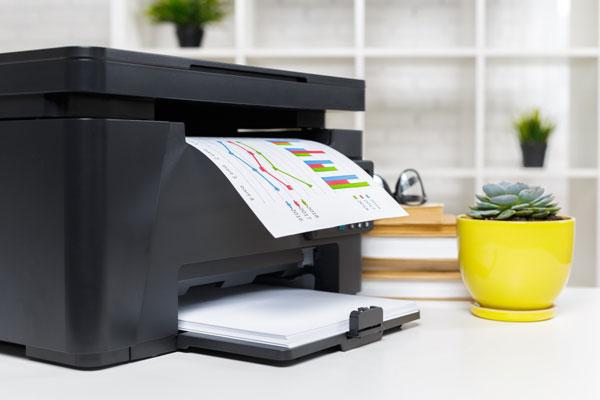 laser printer is better than an inkjet printer