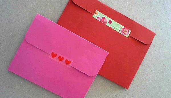 make a cardstock envelope