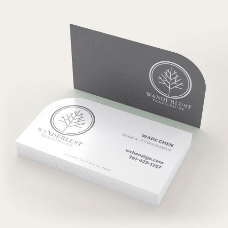 make your business card yourself