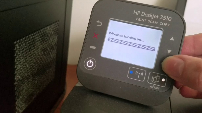 How to connect HP Deskjet 3510 to Wi-Fi