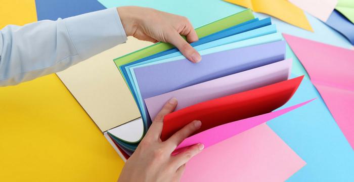 Categories of cardstock paper