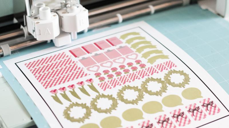 Cricut Print and Cut Size