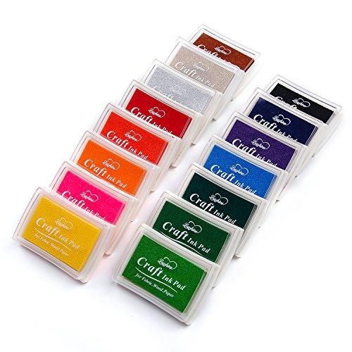 Lsushine Craft Ink Pad Stamps